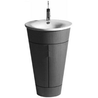 Duravit Starck Vanity Top Porcelain Bathroom Sink 04065800001 White Alpin