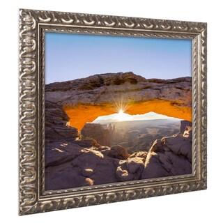 Michael Blanchette Photography 'Lighted Frame' Ornate Framed Art