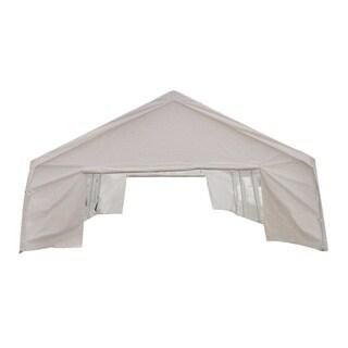 MCombo White 20x26-foot Heavy-duty Carport/ Party Canopy Tent