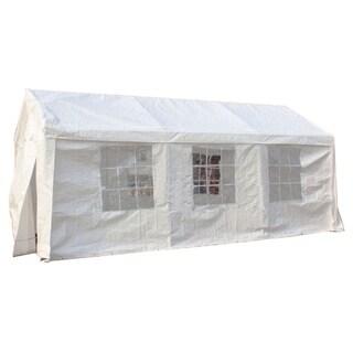 MCombo White 10x20 ft Heavy Duty Carport Party Tent Canopy Car Shelter