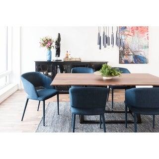 Link to Aurelle Home Walnut Modern Craftsman Rectangular Dining Table Similar Items in Dining Room & Bar Furniture