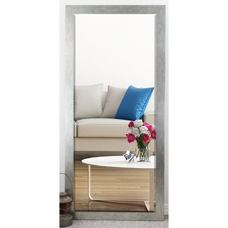 US Made Yukon Silver Beveled Full Body Mirror