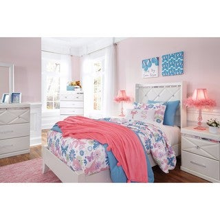 Signature Design by Ashley Dreamur Tan Twin Bed