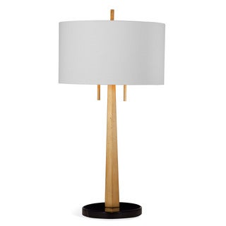 Justine 34-inch Gold Metal Table Lamp