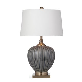 Williston 27-inch Blue and Grey Ceramic Table Lamp