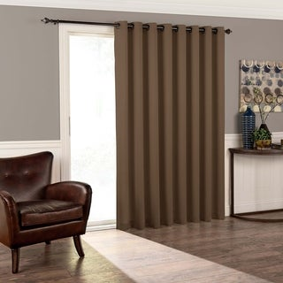 Eclipse Tricia Grey Patio Curtain Panel