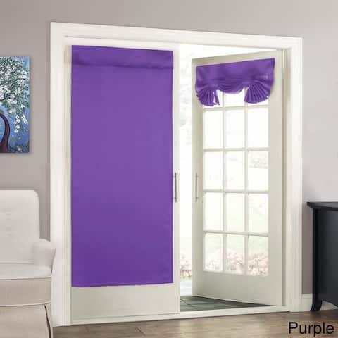 Tricia Room Darkening French Door Panel