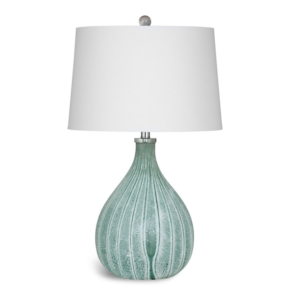 Nassau 29-inch Green Glass Table Lamp