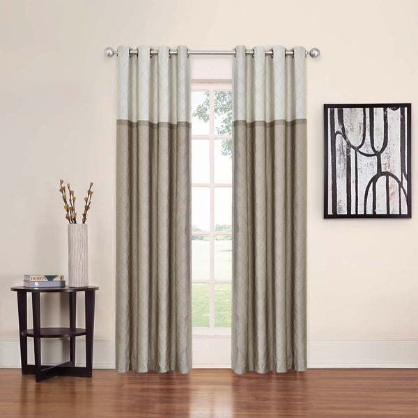 Eclipse Arno Thermalayer Blackout Window Curtain Panel