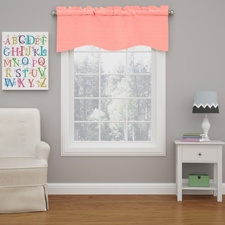 Eclipse Kendall Blackout Wave Window Curtain Valance
