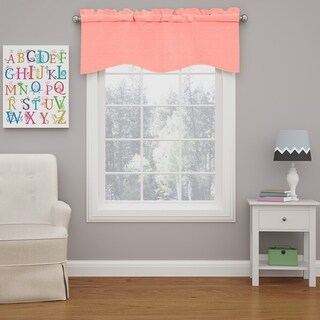 Eclipse Kendall Blackout Wave Window Curtain Valance (More options available)