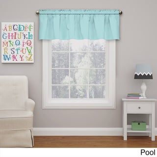 Eclipse Kids Microfiber Blackout Window Valance (More options available)