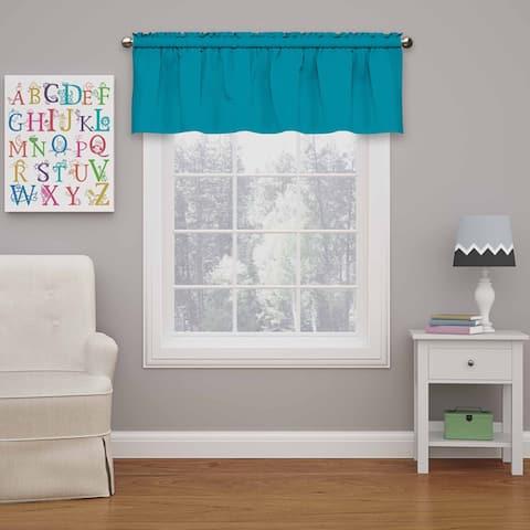 Eclipse Kids Microfiber Blackout Window Valance - 42X18