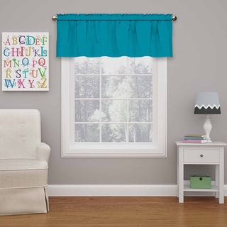 Kids Microfiber Blackout Window Valance