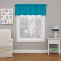Eclipse Kids Microfiber Blackout Window Valance - 42X18