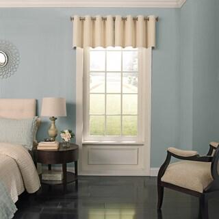 Beauty Rest Malbrouk Blackout Grommet Window Valance