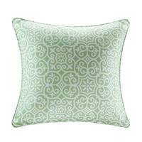 Madison Park Morro Printed Fret 3M Scotchgard Indoor/Outdoor Square Pillow 4 Color Option
