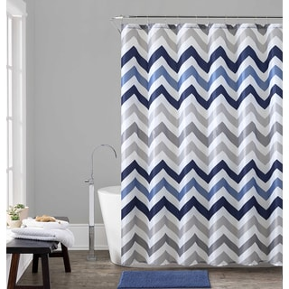 VCNY Home Chevron 14-piece Shower Curtain and Bath Set