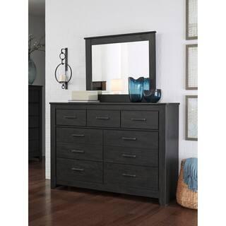 Signature Design By Ashley Brinxton Black Dresser With Mirror