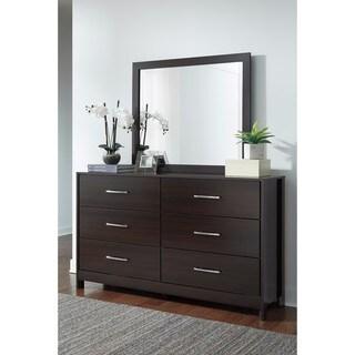 Signature Design by Ashley Agella Blue Dresser with Mirror