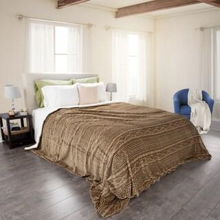 Windsor Home Flannel/Sherpa Blanket