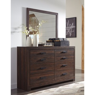 Signature Design by Ashley Arkaline Brown Dresser with Mirror