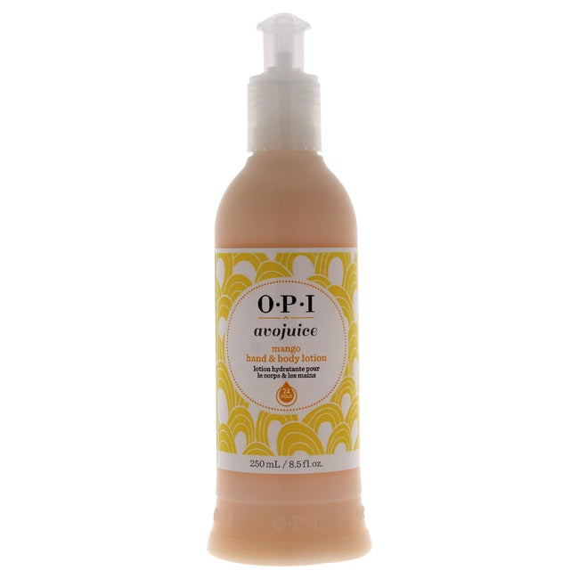 OPI Avojuice Mango (Orange) 8.5-ounce Hand & Body Lotion ...