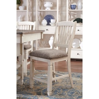 Signature Design by Ashley Bolanburg Two-tone Upholstered Dining Chair (Set of 2)