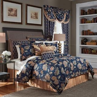 Croscill Julien Chenille Jacobean Jacquard Woven 4 Piece Comforter Set
