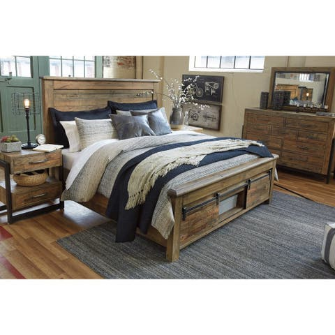 Signature Design by Ashley Sommerford Brown Storage Bed