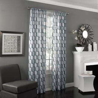Eclipse Candice UV Light Filtering Window Sheer Curtain Panel