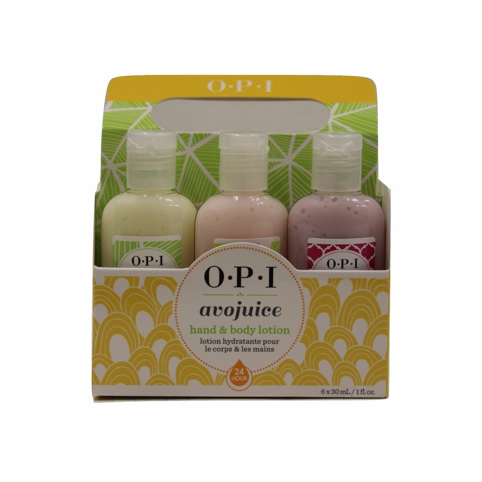 OPI Avojuice 6-pack Assorted Flavors Hand & Body Lotion (...