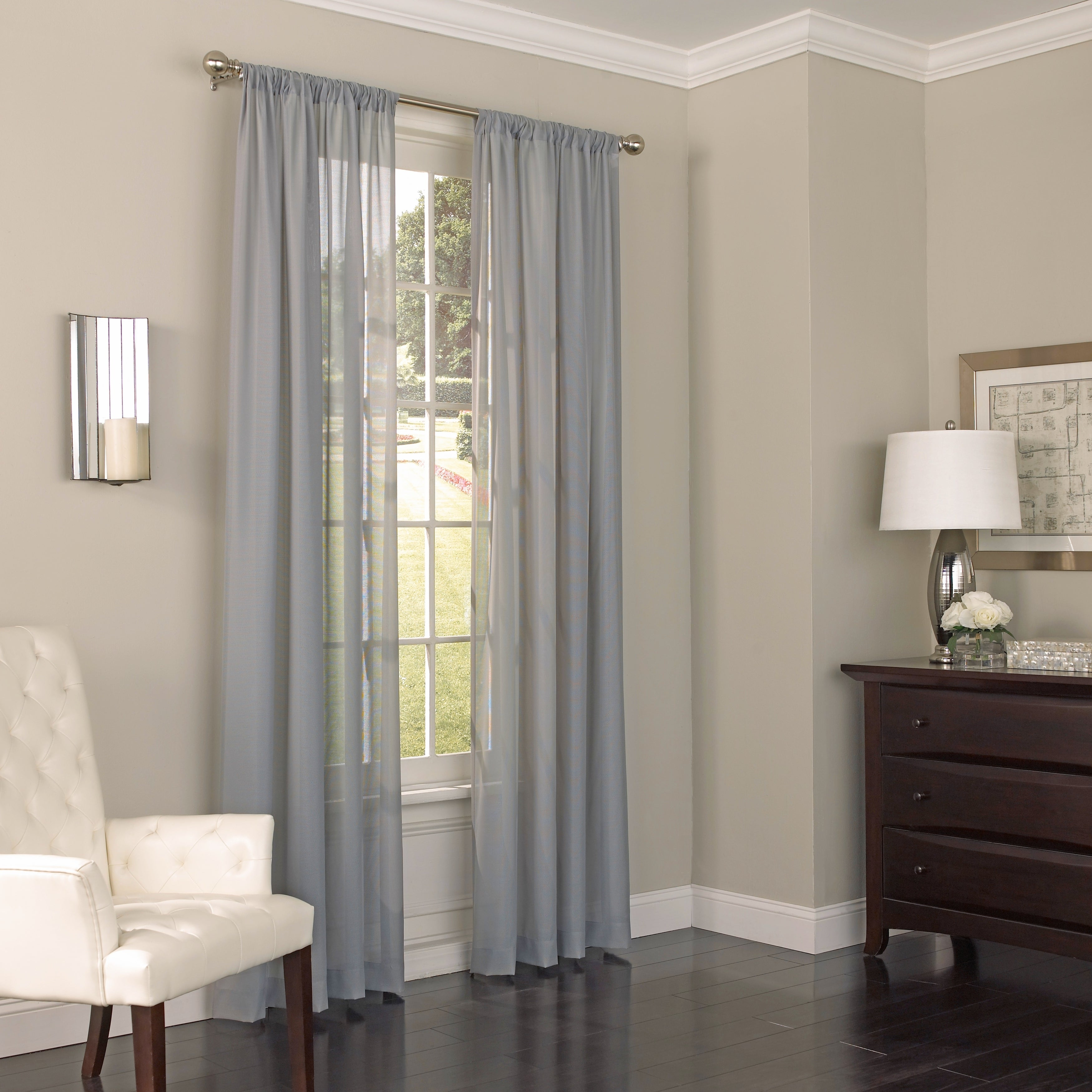 Eclipse Chelsea Uv Light Filtering Single Curtain Panel