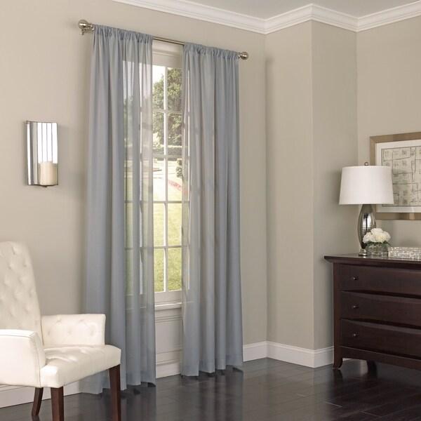Eclipse Chelsea UV Light Filtering Single Curtain Panel