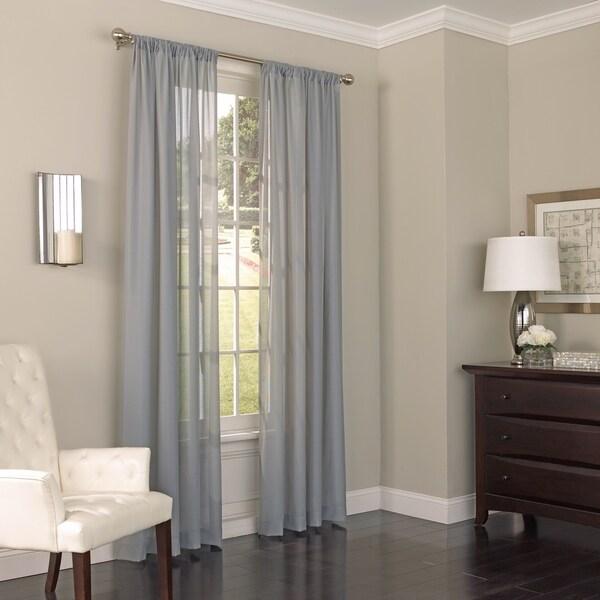 shop eclipse chelsea uv light filtering window sheer curtain panel