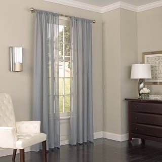 Eclipse Chelsea UV Light Filtering Window Sheer Curtain Panel