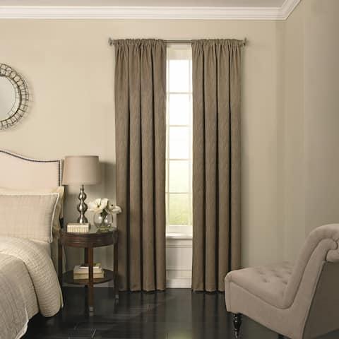 Beautyrest Barrou Blackout Window Curtain Panel