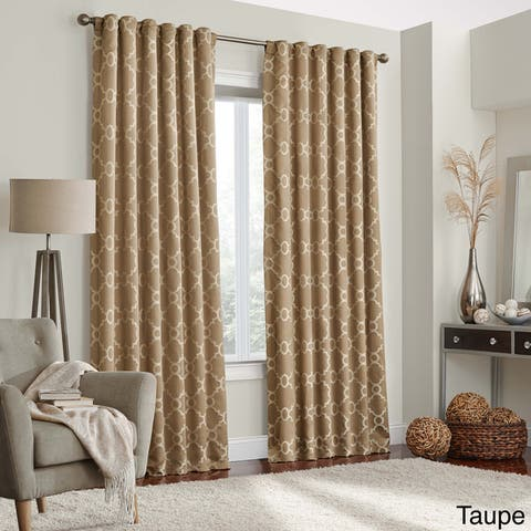 Eclipse Correll Thermalayer Blackout Window Curtain Panel