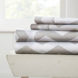 Merit Linens 4-piece Premium Ultra Soft Arrow Pattern Bed Sheet Set|https://ak1.ostkcdn.com/images/products/14369446/P20943613.jpg?impolicy=medium
