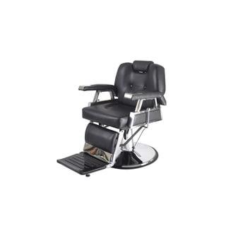 BarberPub Hydraulic Recline Black Hair Salon Chair