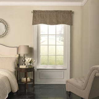 Beauty Rest Barrou Blackout Wave Window Valance