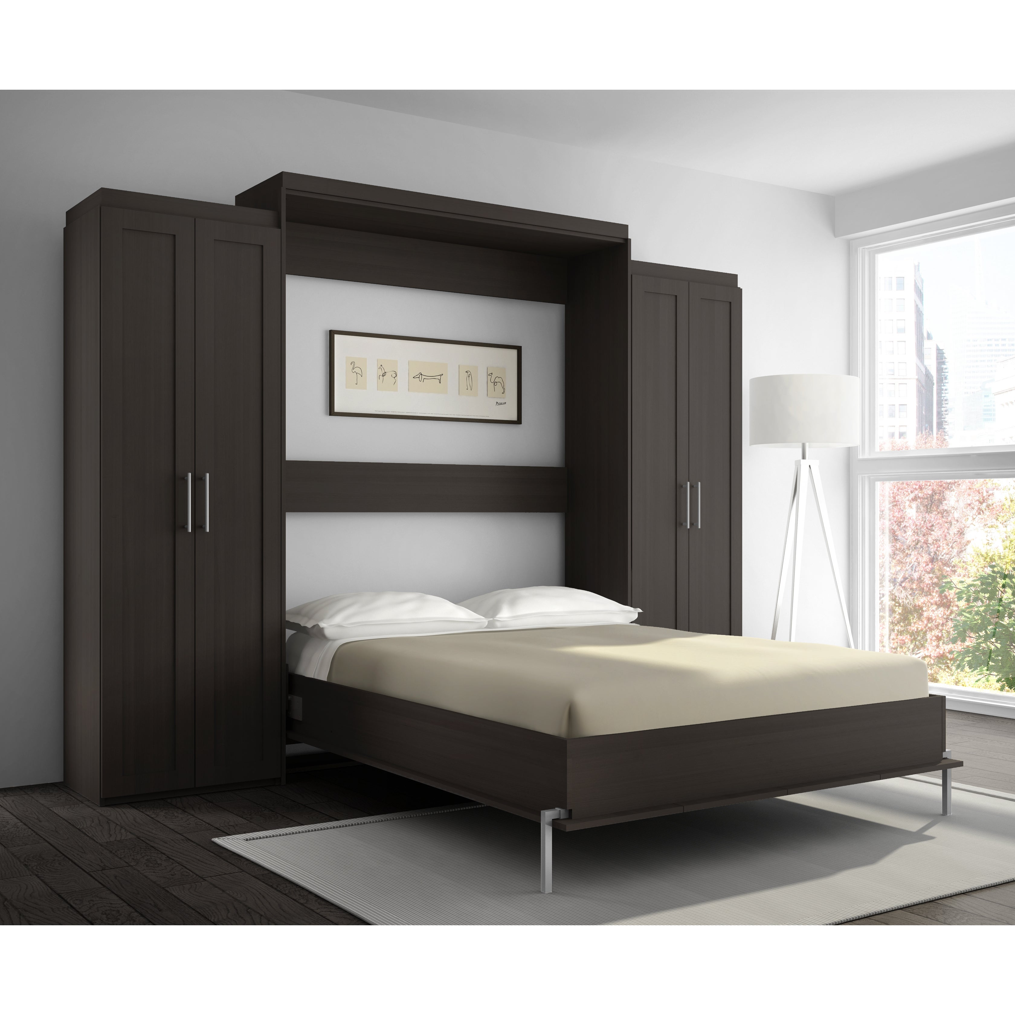 Stellar Home Furniture Shaker Full Wall Bed Ebay