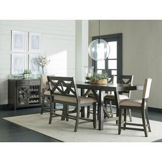 Omaha Grey Wood Counter-height Table