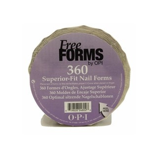 OPI Free Form Nail Forms (Pack of 360)