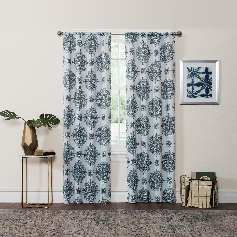 Room Darkening Window Curtain Panel