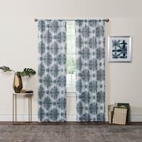 Eclipse Olivia Thermaweave Room-Darkening Window Curtain Panel