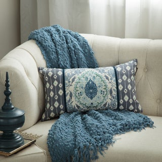 Bombay Tivoli Damask Lumbar Pillow