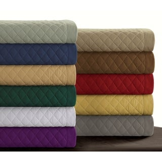 Link to Brisbane Solid Oversized Quilt Set Similar Items in Quilts & Coverlets