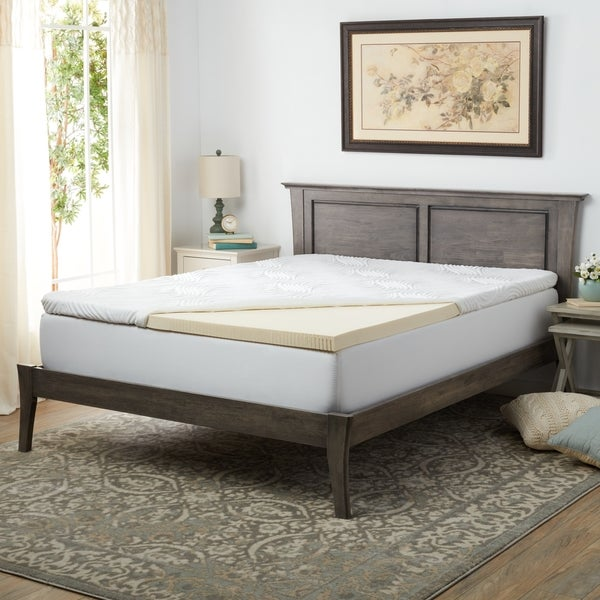 Pure Talalay Bliss 2-inch Firm Latex Mattress Topper