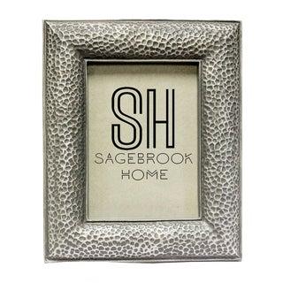 Sagebrook Home-4 X 6 Photo Frame, Silver